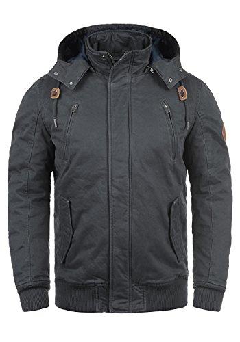 Blend Ken Herren Winterjacke Herrenjacke Jacke Mit Stehkragen Und Abnehmbarer Kapuze Aus 100% Baumwolle