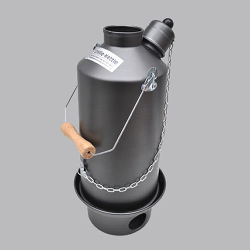 Hard Anodized Whistling Ghillie Kettle - Adventurer 1.5L