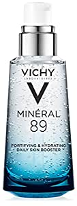 Vichy Mineral 89 Fortifying, Hydrating & Plumping Daily Skin Booster, Face Moisturizer with hyaluonic Acid, 1.67 Fl. Oz.