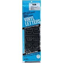 Graphic Productos Vinilo Adhesivo permanente letras (95/Pkg-Black