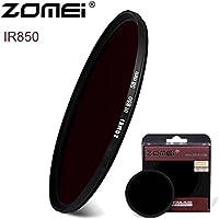 flycoo Zomei IR 850nm 37mm Filtro Infrarrojo cristal política x-ray objetivo lente para Canon Nikon Sony fuji etc DSRL SRL cámara Digital cámara