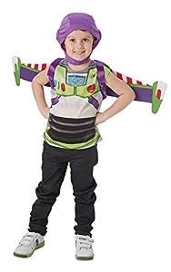 Rubies - Disfraz oficial de Disney Toy Story 4, Buzz Lightyear para niños, talla única aprox. 3 - 6 años