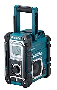 Makita DMR106B Jobsite Radio with Bluetooth and USB Charger - assortment
