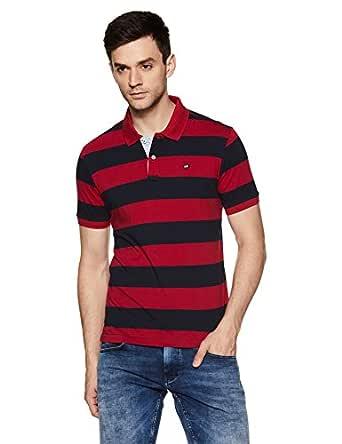 Arrow Regular Fit Striped Polo Shirt