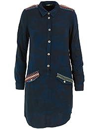559918366d20e Desigual Robe Courte Femme Vest Dieppe 18WWVW25