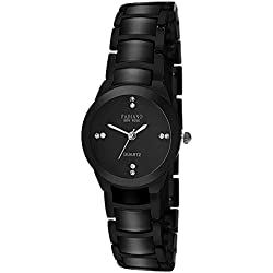 Fabiano New York Black Analog Wrist Watch for Women