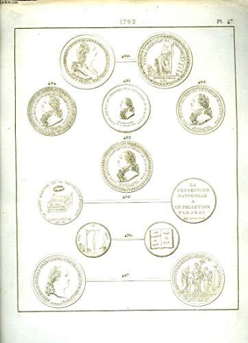 Histoire Numismatique de la Révolution Française. Planche N°47 : 1793