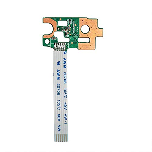 GinTai Power Button Board mit Flachkabel Ersatz für HP 15-N 15-n270sa 15-n271ea 15-n274sa 15-n276ea 15-n206sa 15-n207sg 15-n208sa 15-n209sa 15-n267ea 15-n268ea 15-n268sa 15-n270ea 15-n097sa 15-n032sa -