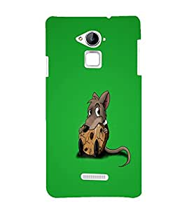 printtech Small Rat Cookie Back Case Cover for Coolpad Note 3 Lite