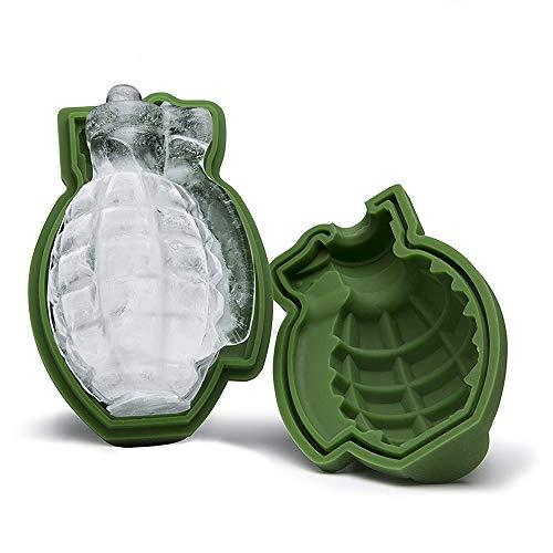 Silikon-Eisform mit Granaten-Motiv für Eis, Schokolade und Gelee (Granate Schokolade)
