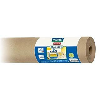 Maler Abdeckpapier Schutzpapier glatt 100% Altpapier 80 cm x 20 m