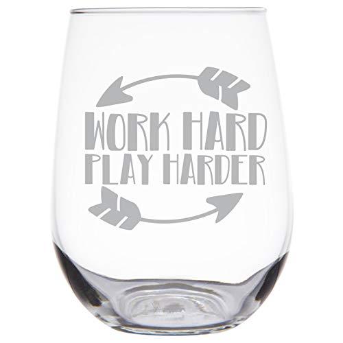 SG30 Weinglas mit Gravur ohne Stiel, geätztes Premium-Weinglas, Geschenk für Lady Boss, Arbeit zu Hause, Mütter, Mitarbeiter, Frauen-Unternehmer