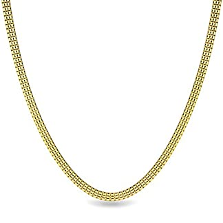 Candere By Kalyan Jewellers Contemporary Collection 22k Yellow Gold Owen Chain Necklace