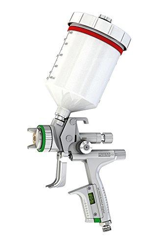 Sata Jet 5000W HVLP Pistolet Déja Œ Se 0.6l Qcc Plastique Tasse réutilisable pivotant