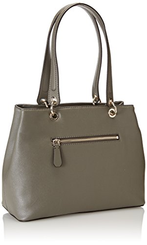 Guess Hwvg6691360, Borsa a Mano Donna, 15 x 26.5 x 42 cm (W x H x L) Grigio (Taupe)