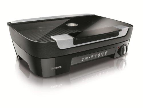 Philips HD6360/20Gril de Table, double plaque, arôme et räucherei, avance Collection