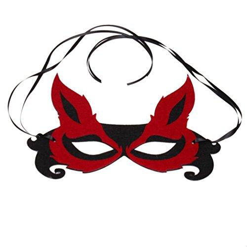 Coolster Sexy Retro römischen Gladiator Gesichts Masquerade Ball Maske für Party & Halloween & (Kostüm Halloween Gladiator Geist)