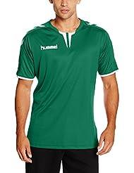 Hummel T-Shirt atmungsaktiv – CORE SS POLY JERSEY – Trainingsshirt kurze Ärmel Herren – Fitnessshirt für Sport & Freizeit –  Sportshirt div. Farben - Tshirt Rundhals