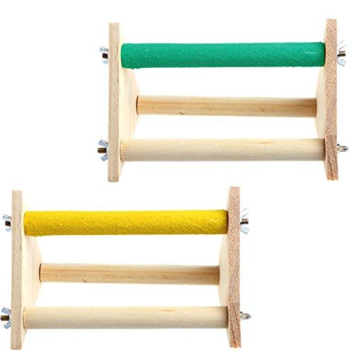Kimyu-Spaß-Haustier-Papageien-Vogel-Barsch-Stand-Spiel-Spielwaren-Gymnastik-Hölzerner Tätigkeits-Tisch-Spielstand -