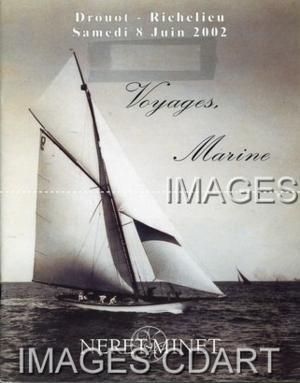 BEAUX LIVRES DE VOYAGE ET DE MER. ATLAS. MANUSCRITS. LIVRES. PHOTOGRAPHIES ANCIENNES. DESSINS. AQUARELLES. TABLEAUX. GRAVURES. ART POPULAIRE. TRAVAUX DE MARINS. CURIOSITE. IVOIRES. 08/06/2002.