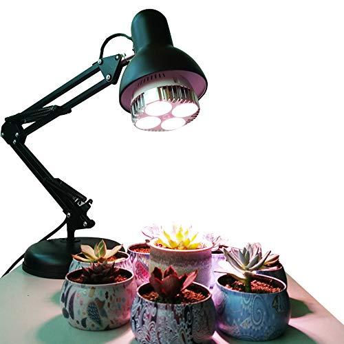 Flower/Topf/Sukkulente Tischleuchte, Indoor Fill Light Vollspektrum mit Clip Micro Landscape LED Growing Light -