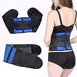 Rückenbandage Verstellbare Zuggurte chronische Rückenschmerzen, Lordosenstütze und Wirbelsäuleninstabilität für Damen und Herren,XXXXXL