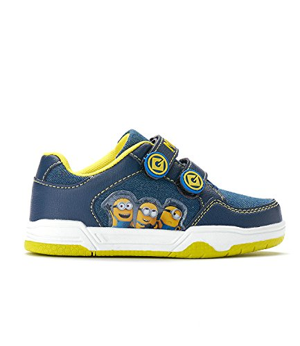 Minions Despicable Me Garçon Sneaker - bleu marine
