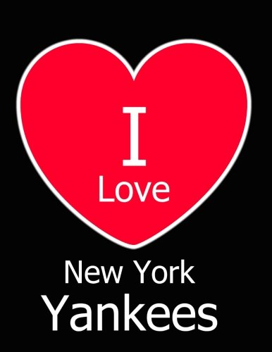 I Love New York Yankees  Black Notebook Journal for Writing 100 Pages 2fd7d9243564