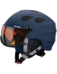 Alpina Unisex Grap Visor Hm Skihelm