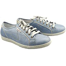 d5aa84665149e5 Mephisto Mobils by HOLDA Cloud Baskets Wide FIT en Cuir Bleu pour Femme