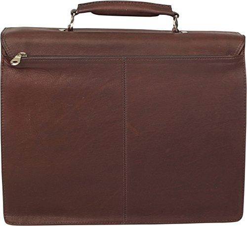Harold's Country cartella portadocumenti pelle 39 cm compartimenti portatile marrone marrone