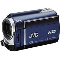 JVC GZ-MG330A Slim HDD/microSD Hybrid Camcorder With Konica Minolta Lens (35x Optical Zoom)