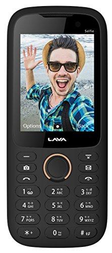 Lava ARC Selfie (Black-Gold) offer