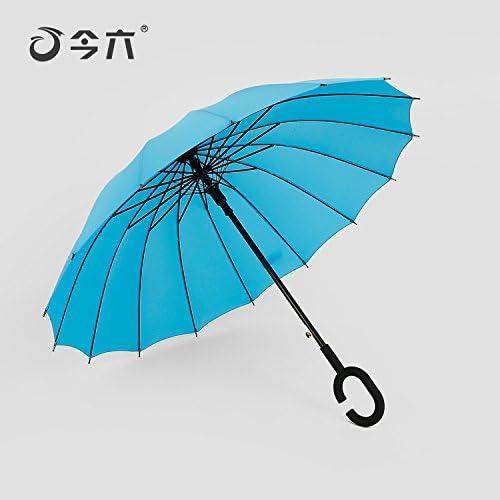 ZQ@QX Gambo lungo lungo lungo la prossoezione solare Ombrello Ombrelloni , gli uomini e le donne di Coloreeee blu | Ad un prezzo inferiore  | Menu elegante e robusto  18fa6c