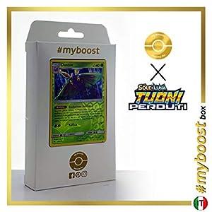 Dustox 28/214 Holo Reverse - #myboost X Sole E Luna 8 Tuoni Perduti Box de 10 Cartas Pokémon Italiano