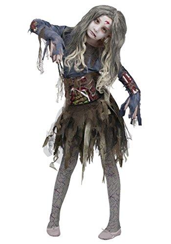 Funworld zombie girls halloween costume, large (12–14)