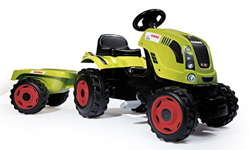 Smoby 7600710114 - Traktor Farmer Claas Arion 400, Outdoor, Sport, XL, grün -
