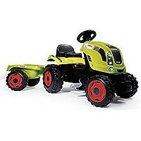 Smoby - Tracteur Farmer XL + Remorque - Capot ouvrable