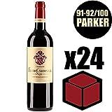 X24 Château Fleur Cardinale 2014 75 cl AOC Saint-Emilion Grand Cru Classé Rouge Rotwein