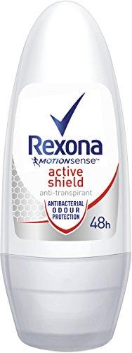 Rexona Deo Roll-on Active Shield Anti-Transpirant, 6er Pack (6x 50ml)
