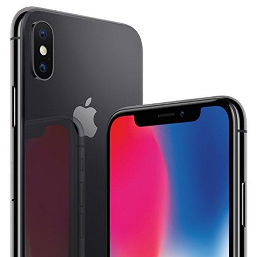 Apple iPhone X 5.8' Single SIM 4G 256GB Grey - Smartphones (14.7 cm (5.8'), 256 GB, 12 MP, iOS, 11, Grey)