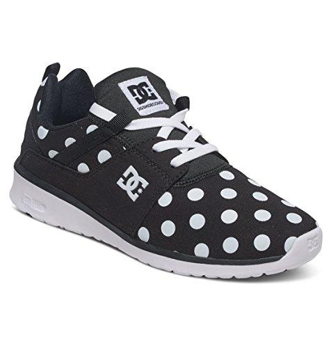 Dc Shoes Heathrow Se - Zapatillas De Caña Baja Para Mujer Noir - Black/White Print