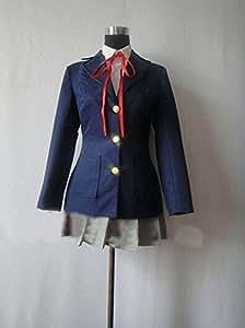 guoqueen K-ON Nakano Azusa Cosplay Costume personnaliser Cosplay Costume L