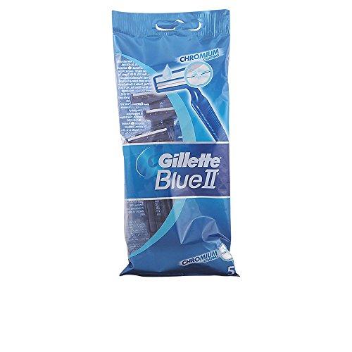 gillette-rasoio-blue-ii-chromium-coating-cuchilla-afeitar-desechable-5-uds-200-gr