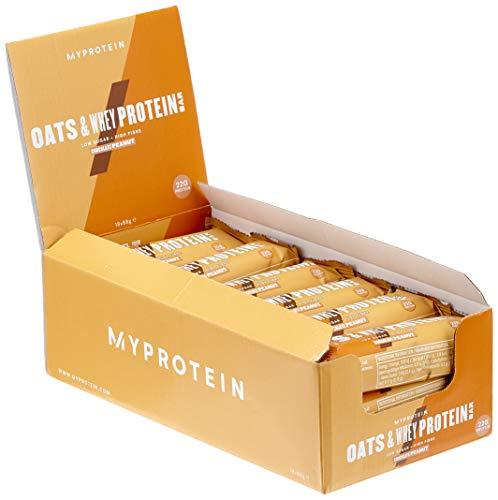 Myprotein MyBar Oats und Whey (Hafer-Proteinriegel) Chocolate Peanut 18 x  88 g, 1er Pack (1 x 1 584 kg)
