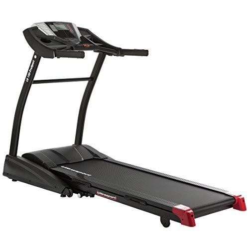 Ultrasport motorisiertes Laufband LB 180-Prosport, klappbarer Heimtrainer mit elektronischer Steigungseinstellung, Geschwindigkeitsbereich bis 18 km/h, 1.700 Watt Leistung, belastbar bis 130 kg