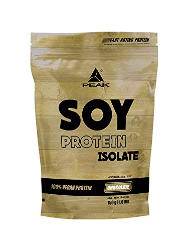 PEAK Soy Protein Isolate Chocolate 750g | NEW DESIGN