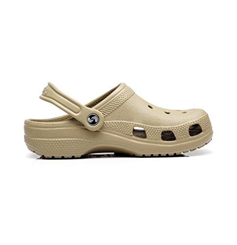 W&XY Plage Homme été des sandales antidérapant grande taille Baotou trou perforé cool sandales 41