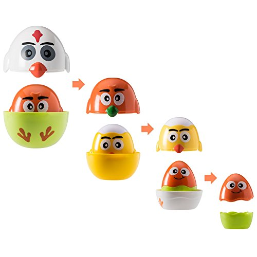 Prextex Easter Eggs Fun Stacking and Nesting Easter Eggs  available at amazon for Rs.1780