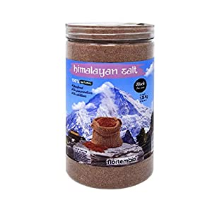 NortemBio Black Himalayan Salt 1,35 Kg. Extra Fine Grain (0,5-1 mm). 100% Natural. Unrefined. Non-preservatives. Hand-Harvested. Premium Quality.